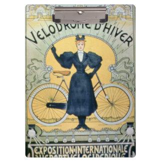 'Winter Cycle Racing Track', International Exhibit Clipboard