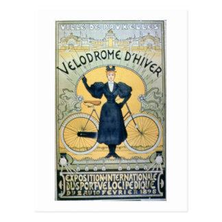 'Winter Cycle Racing Track', International Exhibit Postcard