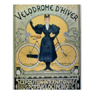 'Winter Cycle Racing Track', International Exhibit Poster