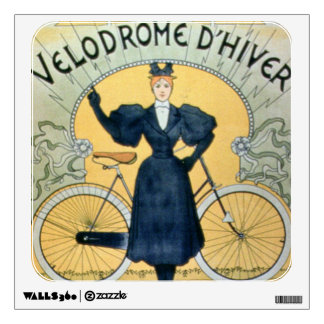 'Winter Cycle Racing Track', International Exhibit Wall Sticker