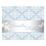 Winter Damask Directions Card 2 Flyer