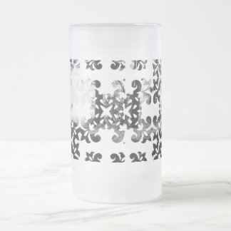 Winter Damask Forest Archway Beer Mugs