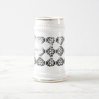 Winter Damask Forest Archway Coffee Mugs