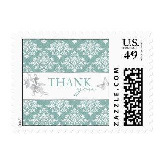 Winter Damask TY Stamp