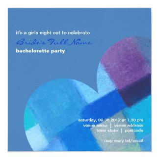 Winter danube Bachelorette Party Invitation