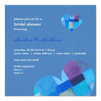 Winter danube Bridal Shower Invitation