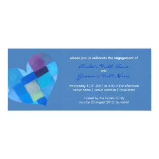 Winter danube Engagement Invitation