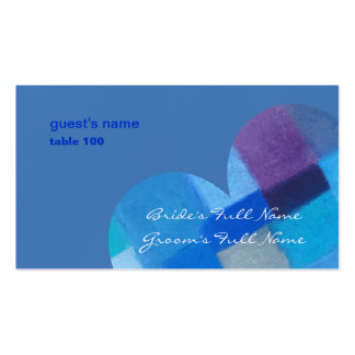 Winter danube Place Card Business Card Templates