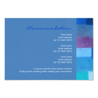 "Winter danube Wedding Enclosure Card 3.5"" X 5"" Invitation Card"