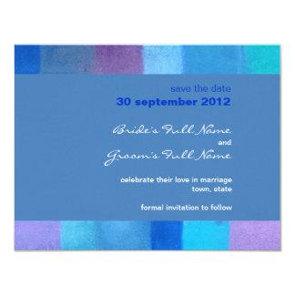 Winter danube Wedding Save the Date Card