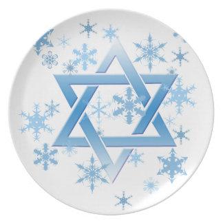 winter david dinner plate