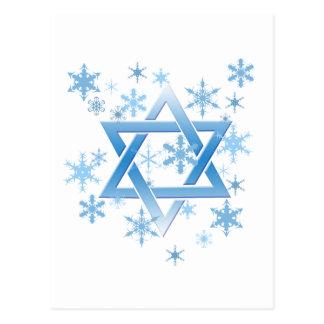 winter david postcard