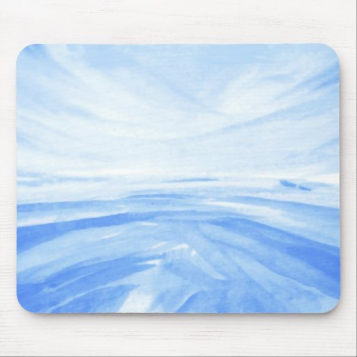 Winter Dawn Mouse Pads