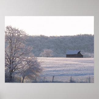 Winter Dawn Poster