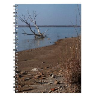 Winter Day at Joe Pool Lake notebook