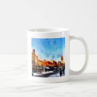 Winter Day In Ann Arbor Coffee Mug