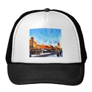 Winter Day In Ann Arbor Trucker Hats