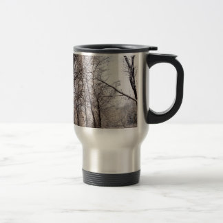 Winter Day 15 Oz Stainless Steel Travel Mug