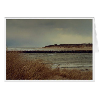 Winter Day on Cape Cod Bay Stationery Note Card