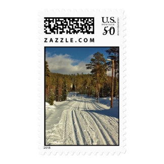 Winter Day on Sweden Postage