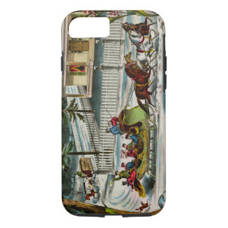 Winter Days Christmas scene iPhone 8/7 Case