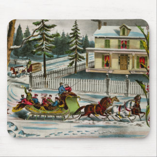 Winter Days Mouse Pad