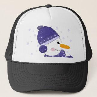 Winter Days Snowman Trucker Hat
