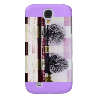 Winter December January Trees Galaxy S4 Cases
