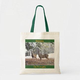 Winter deer - Tote bag