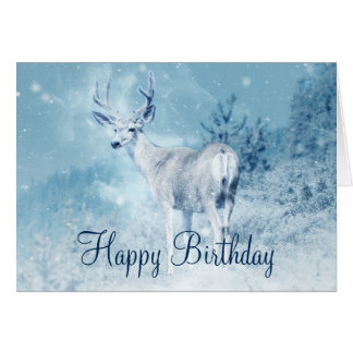 happy winter birthday cards greeting amp photo cards zazzle