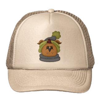 Winter Dog Trucker Hat