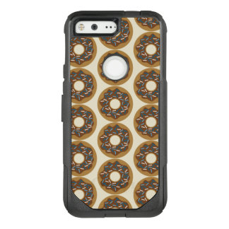 Winter Donuts with Blue Sprinkles Iced Chocolate OtterBox Commuter Google Pixel Case