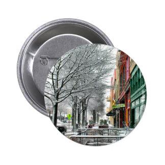 Winter Downtown Button
