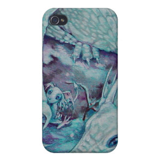 - Winter Dragon iPhone 4/4S Cover