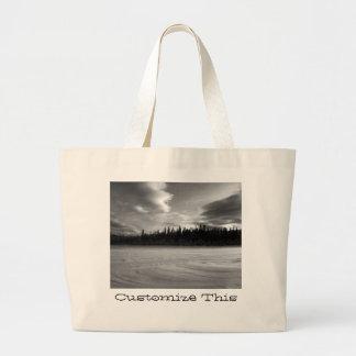 Winter Drama; Customizable Bags