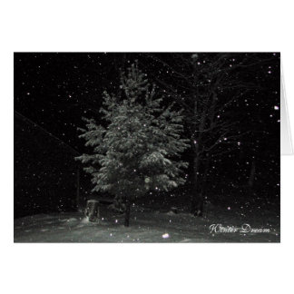 Winter Dream Card