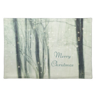 Winter Dream Cloth Placemat