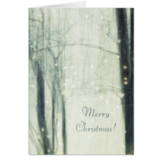 Winter Dream - Merry Christmas Greeting Card