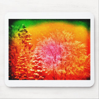 winter dream mouse pad