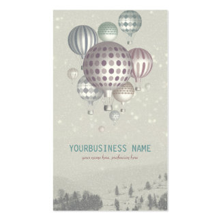 Winter Dreamflight (Christmas Time) Business Card Templates