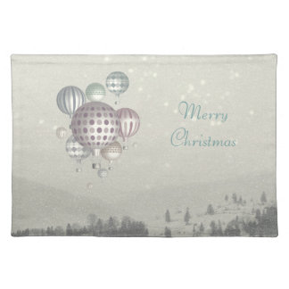 Winter Dreamflight (Christmas Time) Placemat