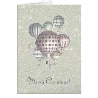 Winter Dreamflight - Merry Christmas Greeting Card