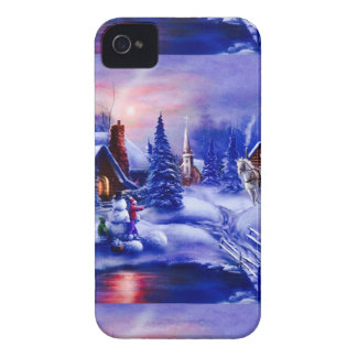 Winter dreamland iPhone 4 Case-Mate case