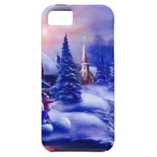 Winter dreamland iPhone SE/5/5s case