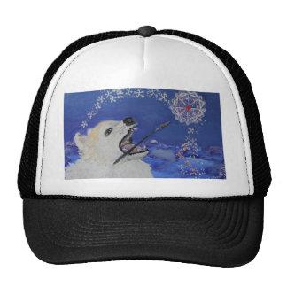 Winter Dreams-An Artist Great Pyrenees Mountain Do Trucker Hat