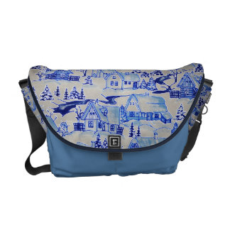 WINTER DREAMS COURIER BAGS