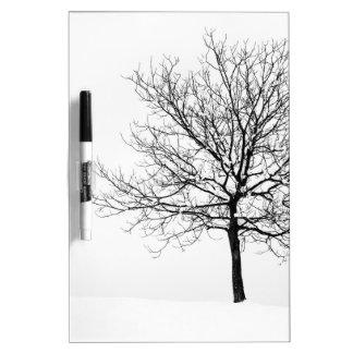 Winter Dry-Erase Board