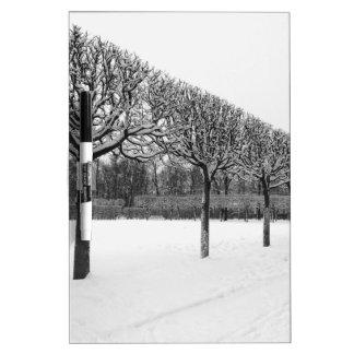 Winter Dry Erase Board