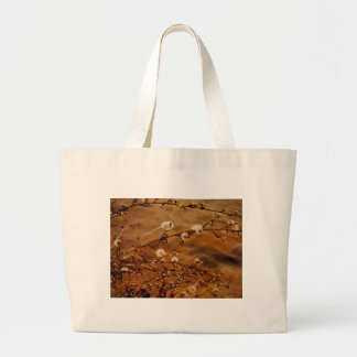Winter Dry Wildflowers at Lake Tote Bags