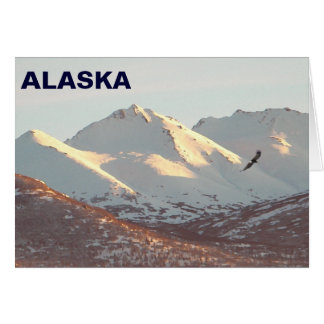 Winter Eagle Card